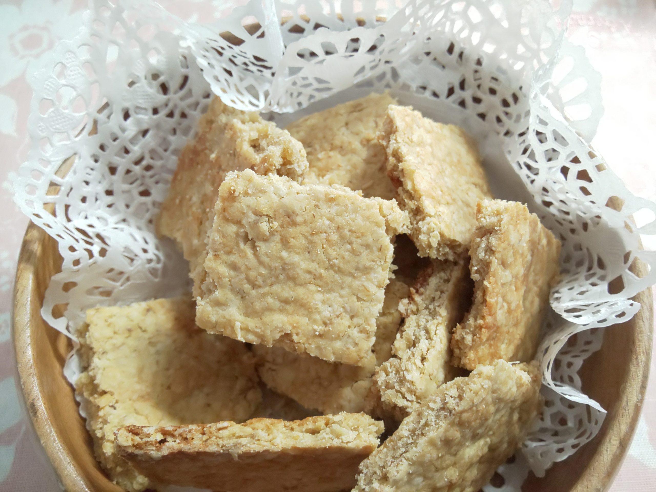 オートミールクッキー【大豆粉(おからパウダー)で健康的】
