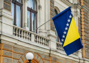 ボスニア・ヘルツェゴビナの旗